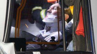 D100'de halk otobüsü tıra çarptı! Yaralılar var...