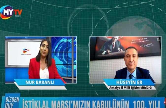 Antalya İl Milli Eğitim'den 100. Yılda 100 Etkinlik