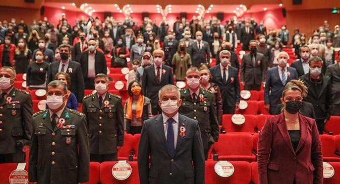 Atatürk'ün Antalya'ya gelişinin 91. yıl dönümü törenle kutlandı