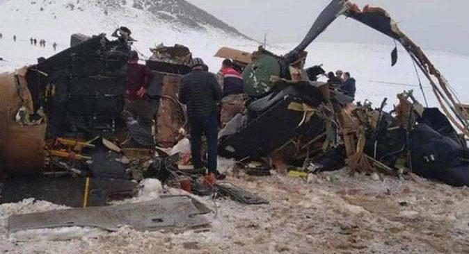 Bitlis'teki helikopter kazasıyla ilgili son dakika açıklaması