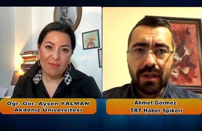 TRT Haber Spikeri Ahmet Görmez 'Çevrim İçi Söyleşiler'e konuk oldu