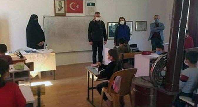 Antalya'da imam eşi çarşafla derse girmişti! Tepki çeken olayla ilgili yeni gelişme