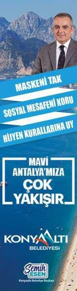 Konyaaltı Belediyesi Mavi Antalya'ya çok yakışır