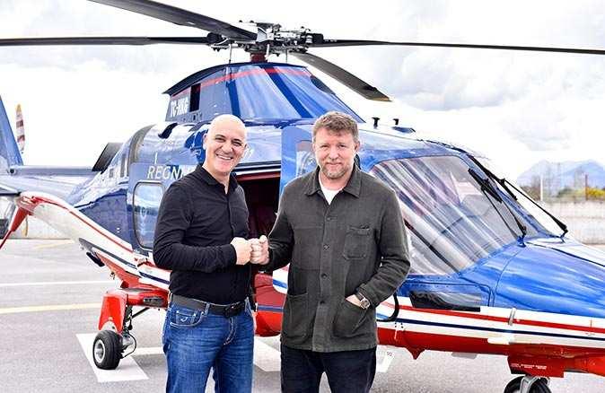 Dünyaca ünlü yönetmen Guy Ritchie, Antalya OSB'yi ziyaret etti