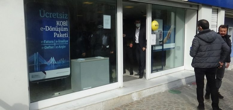 Diyarbakır'da banka soygunu girişimi!