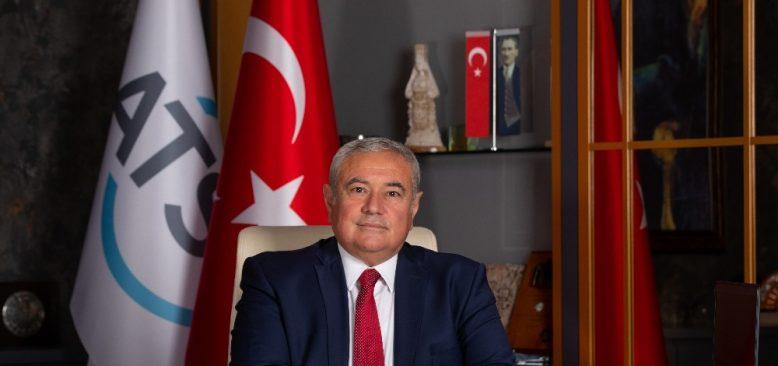 ATSO Başkanı Çetin: Hizmet sektöründeki yüzde 4,3 daralma var