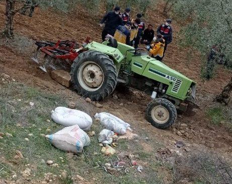 Denizli'de 56 yaşındaki çiftçinin feci ölümü