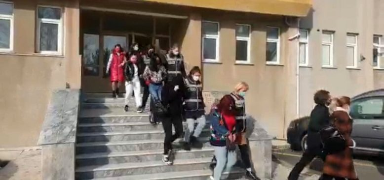 Tekirdağ'da fuhuş operasyonu! 3 kişi gözaltına alındı