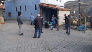 Savran köyü karantina altına alındı