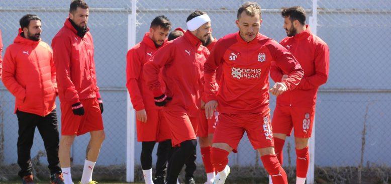 Sivasspor pas çalıştı