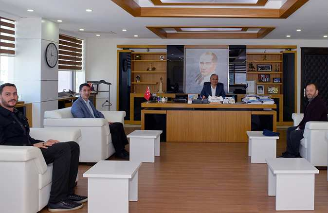 Diyanet-Sen'den Başkan Uysal'a ziyaret