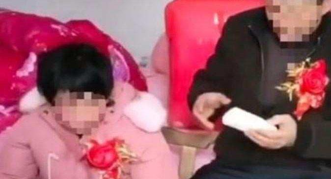 Çocuğu yaşındaki zihinsel engelli kızla evlenen adama tepki yağdı