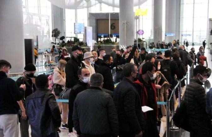 İstanbul Havalimanı'nda pandemi döneminin en yoğun günü