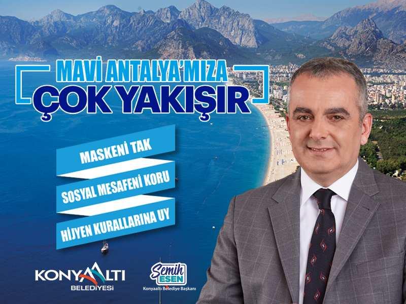 Konyaaltı Mavi Antalya