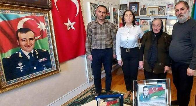 AHDD üyelerinden Polat Haşimov'un ailesine ziyaret