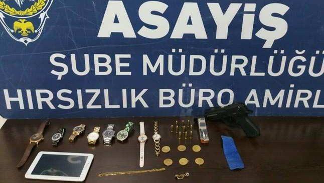 Altınova hırsızı yakalandı!