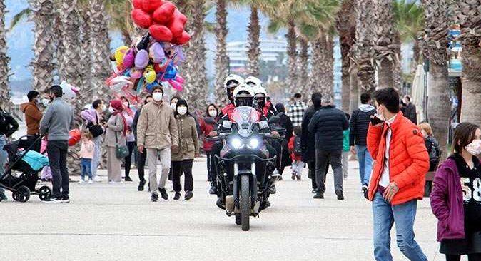 Antalya'da haftalık koronavirüs vaka sayısı yükseldi
