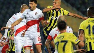 Antalyaspor 14 beraberlikle Avrupa'nın zirvesinde yer aldı