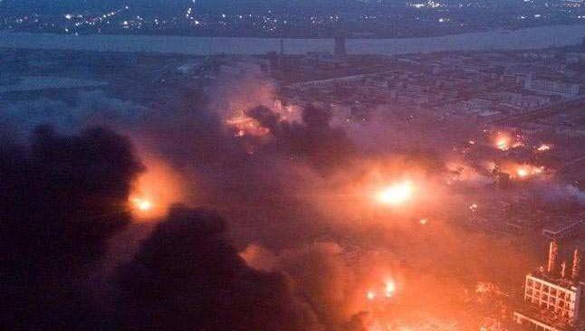 Çin'de patlama! Çok sayıda ölü ve yaralı var...