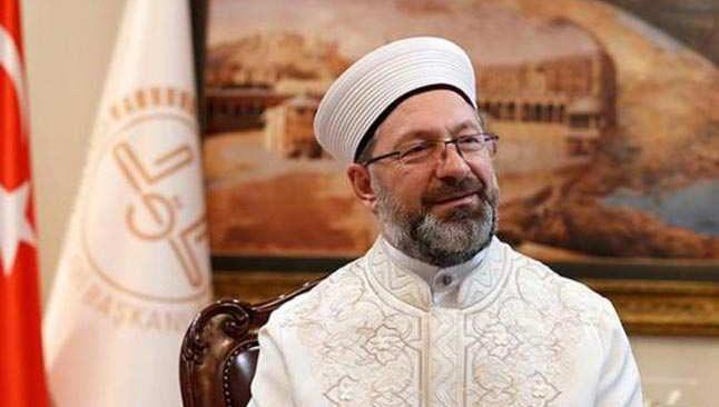 Diyanet İşleri Başkanı Ali Erbaş'tan kötü haber!