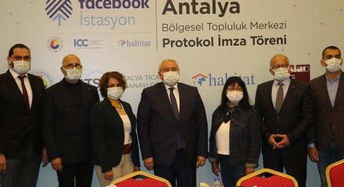 İmzalar atıldı! Facebook Antalya İstasyon'u açılıyor