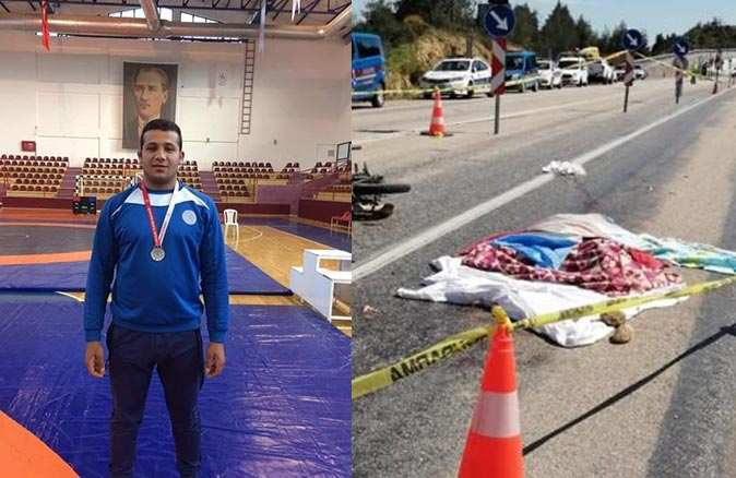 Güreşçi Mehmet Dinek kazada hayatını kaybetti
