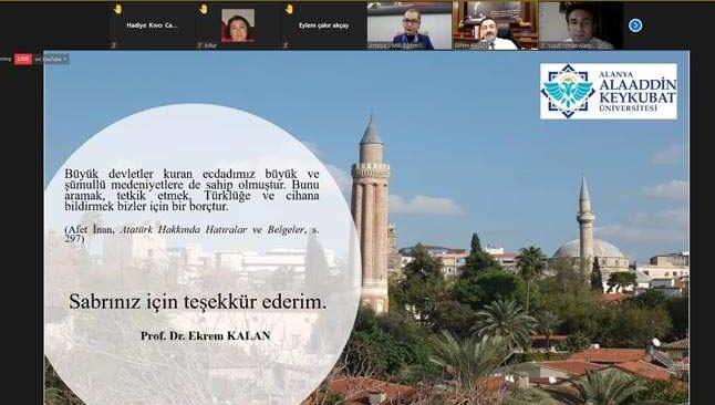 Antalya'nın fethinin 814. kutlama etkinlikleri