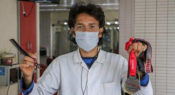 Doktor tavsiyesiyle koşmaya başladı, şimdi maratonlara katılıyor