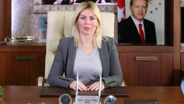 Rektör Özkan'dan kadına yönelik şiddete kınama