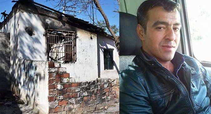 Madde bağımlısı Süleyman Kartal ateşe verdiği evde yanarak hayatını kaybetti