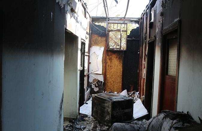Çamaşır makinesi yangına neden oldu! Ev küle döndü