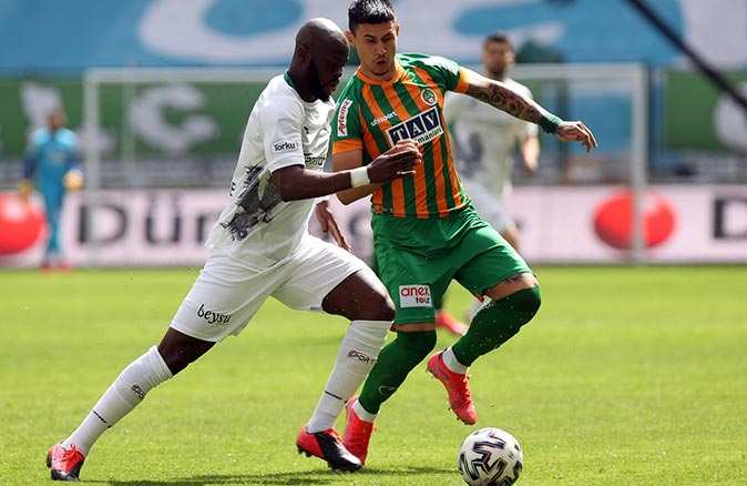 Alanyaspor Konyaspor'a deplasmanda mağlup oldu