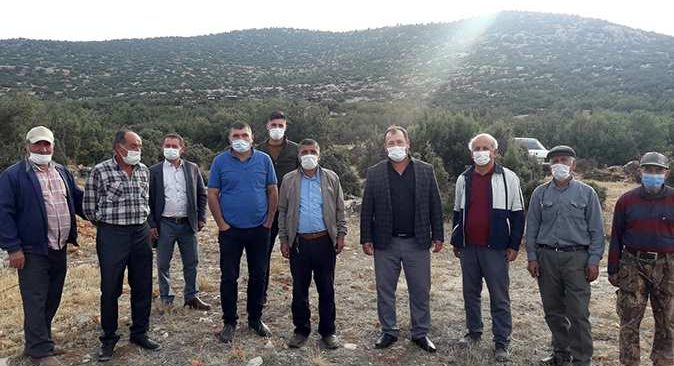 Köylüler açtığı davayı kazandı! 5 bin dönümlük meyve bahçeleri mermer ocağı tehdidinden kurtuldu
