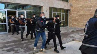 Antalya'da çete çökertildi! 6 kişi tutuklandı