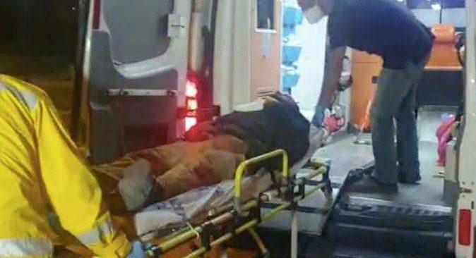 Antalya'da darp edilen çöp toplayıcısı genç ağır yaralandı