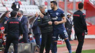 Antalyaspor bir bir ilerliyor...