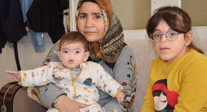 Doğuştan burunsuz dünyaya gelen Erva tedavisi için yardım bekliyor