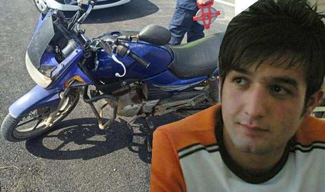 Kamyonetle çarpışan motosiklet sürücüsü hayatını kaybetti