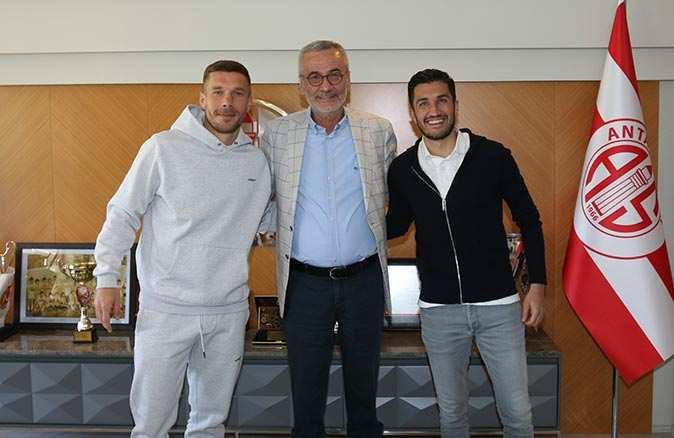 Fraport TAV'dan Antalyaspor Başkanı Yılmaz'a ziyaret