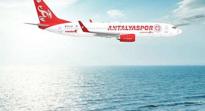 Corendon Airlines'tan Antalyaspor'a final hediyesi!
