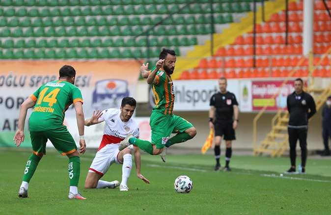 Antalyaspor'un 13 maçlık serisi sona erdi