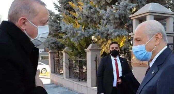 Cumhurbaşkanı Erdoğan'dan Devlet Bahçeli'ye sürpriz ziyaret!