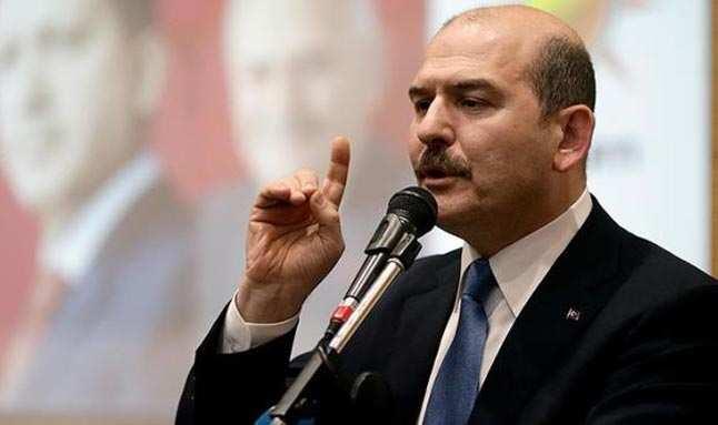 Bakan Soylu 'Türk polisi yakalar' diyerek duyurdu