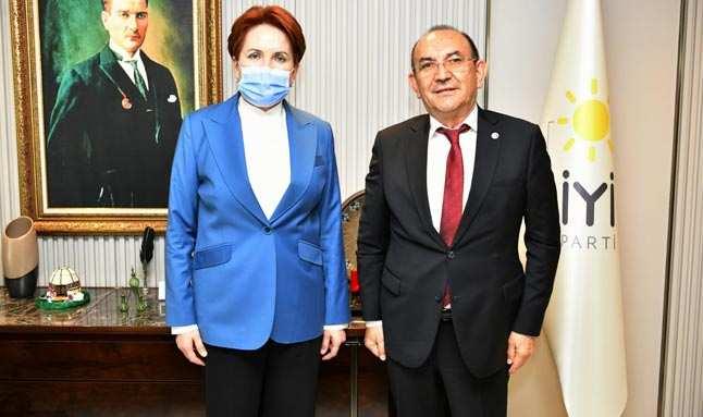 İYİ Parti Antalya İl Başkanı Başaran'dan Meral Akşener'e ziyaret