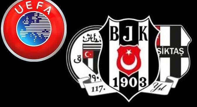 UEFA'dan Beşiktaş'a ceza! Gelirin yüzde 15'ine el konulacak