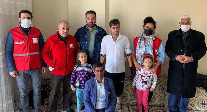 2 çocuk babası Burhan Doğruyol kollarına kavuştu