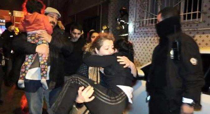 Bursa'daki yangında can pazarı! 8 kişi kurtarıldı