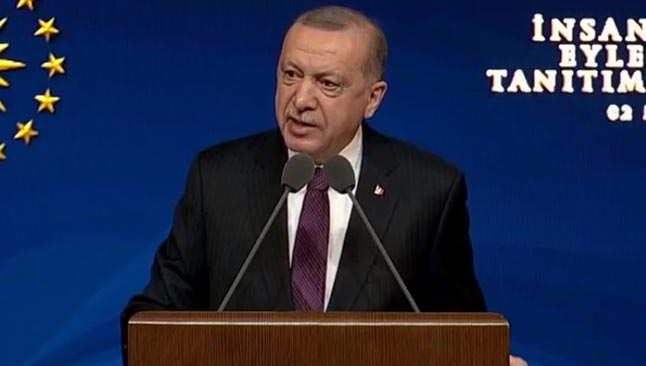 Cumhurbaşkanı Erdoğan: e-Duruşma uygulamasını tüm hukuk mahkemelerine yaygınlaştırıyoruz