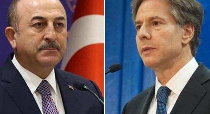 Dışişleri Bakanı Mevlüt Çavuşoğlu, ABD Dışişleri Bakanı Anthony Blinken ile Brüksel'de bir araya geldi.