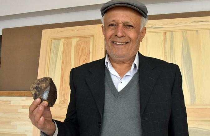 Türkiye'nin 16'ncı meteoriti alıcısını bekliyor